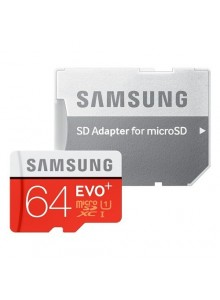 Samsung EVO + SDHC 64GB + Adapter