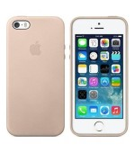 Apple MF042FE/A iPhone SE / 5s Case Leder in Beige/Creme