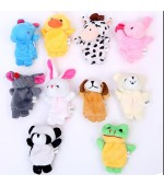 10 Piece Animal Finger Puppets